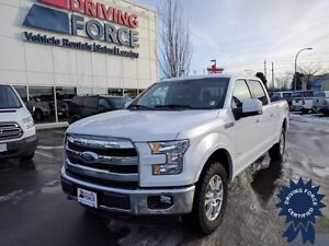 2015 Ford F-150 Lariat Super Crew 4x4 - 47,269 KMs, 3.5L V6 Gas