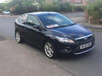 FORD FOCUS 1.8 TDCI TITANIUM 2008 08 PLATE FULL SERVICE HISTORY FULLY SAT-NAVIGATION TOUCH SCREEN