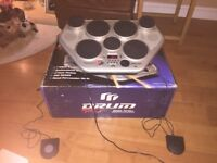 Yamaha DD-55C Digital Percussion Drum Kit (Electronic)- £50 or nearest offer. Quick sale wanted!