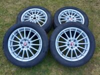 "17"" Jaguar Ford alloy wheels"