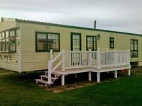 Caravan to Rent at Sandy Bay, Northumberland