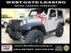 2009 Jeep Wrangler 4X4 | 2DR | CERTIFIED |