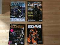 Collection of Edge & Gamer Magazines