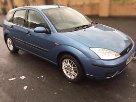 Ford Focus 1.6 automatic 5dr - metallic blue