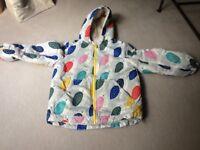Boden girl's jacket