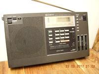 Vintage Sony ICF 2001 shortwave radio
