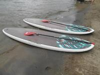 2 Paddle Boards for rent
