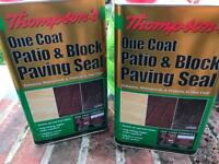 Patio / Block paving sealer