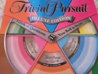 Trivial Pursuit Deluxe Edition Board Game