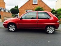 MOT due Sep 2017. 1.1 litre engine, approx 40 mpg. Low insurance & Tax Group. New Tyres and Brakes