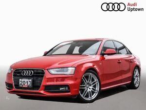 2013 Audi A4 Premium W/ S LINE SPORT PKG & NAVIAGTION