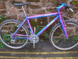 1990 klein attitude retro mountain bike