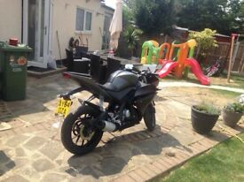 Forsale Yamaha yzf R 125 abs good Condition.
