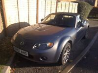 Mazda MX-5 sport 07 reg 2.0 £1,875 absolute bargain Owen it 5 years mechanics excellent drives well