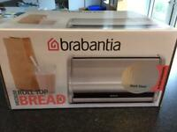 Brand New Brabantia Roll Top Bread Bin in Medium
