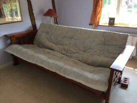Sofa Bed. Equally comfortable as sofa or bed. Hardly used so good condition.