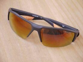 Nike Skylon Ace R EV0859 Unisex sunglasses orange and grey
