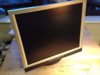 GNR TS900H 19inchTFT LCD Monitor - Black & Silver - 16ms - Stereo Speakers