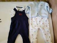 Baby boys designer outfits 3-6 months