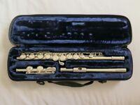Trevor James flute TJ10xII in original case