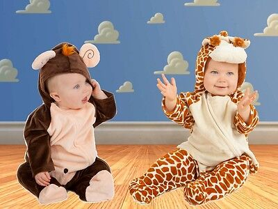 Little Monkey Baby Giraffe fancy dress BNWT 6-12 12-18months Photoshoot Costume](Little Monkey Costume)