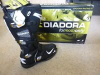 MOTOCROSS BOOTS AND JACKET - BOTH BRAND NEW!..