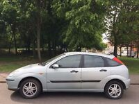 FORD FOCUS 2003 MODEL.LOW MILEAGE 59 K. BRILLIANT DRIVE. BRAND NEW MOT. RECENTLY SERVICED.NO VAT.