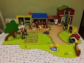 Early Learning Centre Farm play set with additional animals