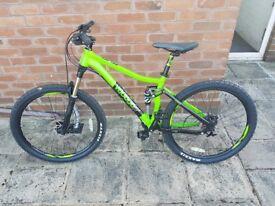 Voodoo Zobop Brand New Full Suspension Bike