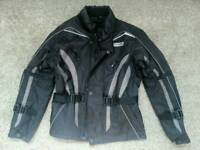 Kids motorbike jacket and trousers