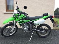 Kawasaki klx 250 2009 road legal