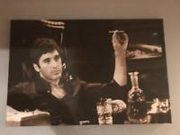 Scarface Canvas for sale.