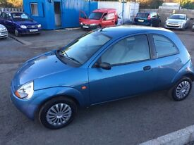 FORD KA 2///FULL YEAR MOT// IDEAL FIRST CAR OR RUNABOUT
