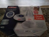 Nuby Natural Touch electric breast pump