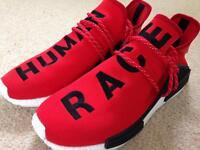 UK 9 Adidas Pharrell Williams Human Race.