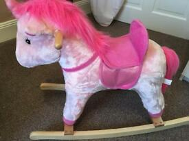 Infant rocking horse