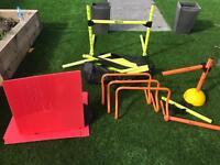 Various Goalkeeper Hurdles