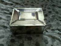 Glass jewerly box