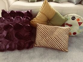 Selection of cushions as new