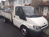 2002 FORD TRANSIT DROPSIDE, DIESEL. BRILLIANT DRIVE.FULL SERVICE HISTORY. RECENTLY SERVICED.NO VAT.