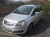 2006 (55) Vauxhall Zafira 1.6, Club, Full MOT, 7 Seater. Fsh