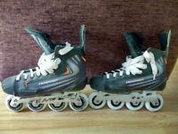 UK 12 Tempish Triton DSX Inline Hockey Skates