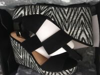 Brand New In Boxed Size 6 Wedges, V by Very.
