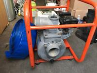 Honda GX 160 water pump.