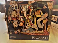picture painting poster wall art :Picasso woman of algiers print mounted on chunky board ~ 65x45x2cm