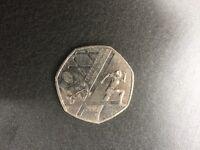 Rare 50p Coin - Commonwealth Games Glasgow