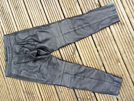 Child's Motorcycle Leather Trousers