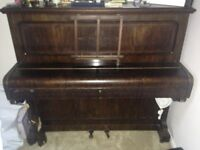 Upright Piano. Free to a good home. Collection only from Kingsworthy.