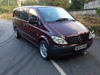 Mercedes vito duel liner 6 seater 111cdi