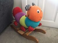 Mamas & Papas Charlie the Caterpillar Rocking Horse Toy EXCELLENT CONDITION (Baby/Toddler Toys)